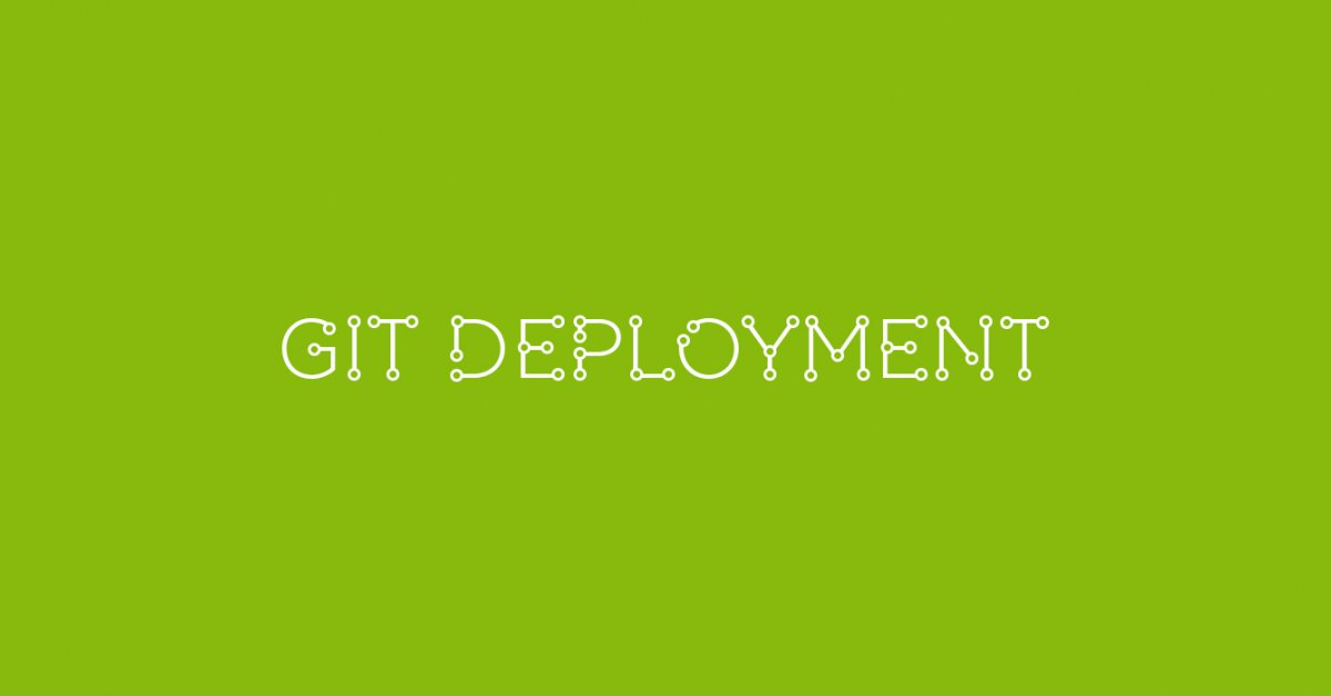 How to set up Git for automated deployments - Diffuse